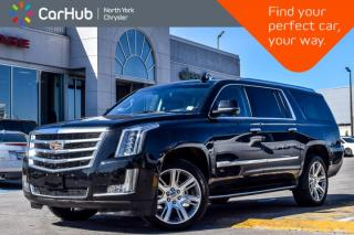 Used 2017 Cadillac Escalade ESV Luxury 4x4|HeadsUp|BlindSpot|LaneKeep|BOSE|RearDvD's for sale in Thornhill, ON