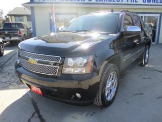 Used 2013 Chevrolet Avalanche LOADED BLACK-DIAMOND EDITION 5 PASSENGER 5.3L - V8.. 4X4.. CREW.. SHORTY.. LEATHER.. HEATED/AC SEATS.. SUNROOF.. NAVIGATION.. for sale in Bradford, ON