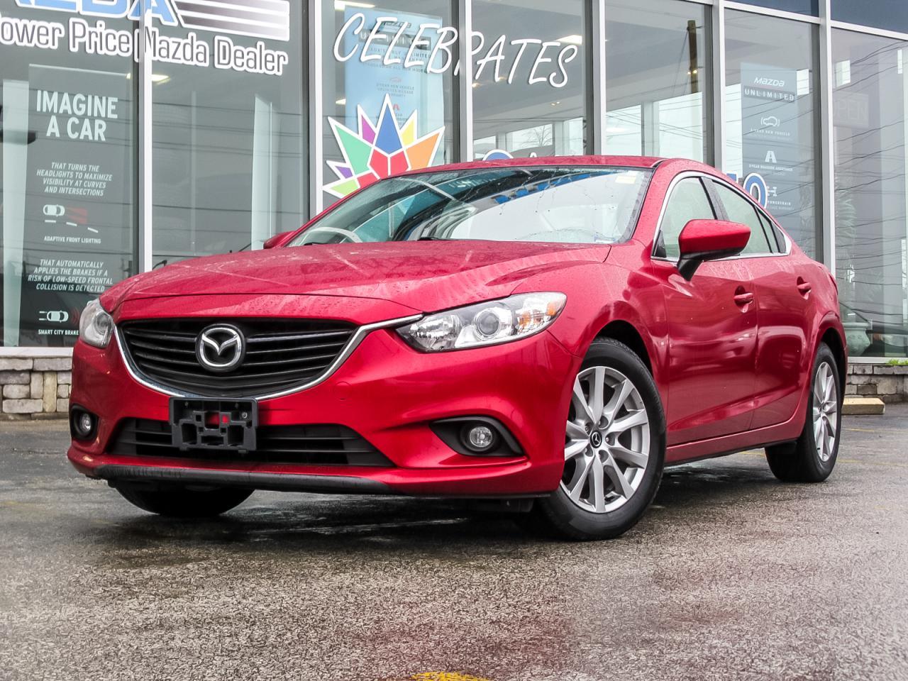 2015 Mazda MAZDA6 GS SKY HEATED SEATS 0% FINANCE!!!