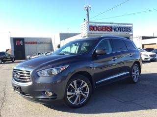 Used 2014 Infiniti QX60 AWD - NAVI - DVD - PANORAMIC ROOF for sale in Oakville, ON