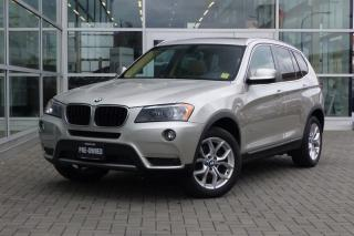 Used 2013 BMW X3 xDrive28i *Loaded, Navi* for sale in Vancouver, BC