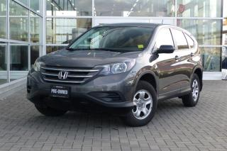 Used 2014 Honda CR-V LX AWD Low Kms! for sale in Vancouver, BC