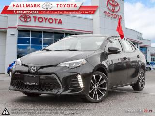 Used 2017 Toyota Corolla 4-door Sedan SE CVTi-S XSE PACKAGE, NAVI AND MORE for sale in Mono, ON