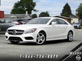 Used 2015 Mercedes-Benz CLS-Class CLS400 CLS 400 + AMG LINE + PARK ASSIST + WOW! for sale in Magog, QC
