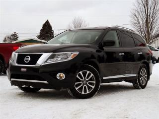 Used 2015 Nissan Pathfinder Sl + 7 Pass. + Cuir for sale in Magog, QC