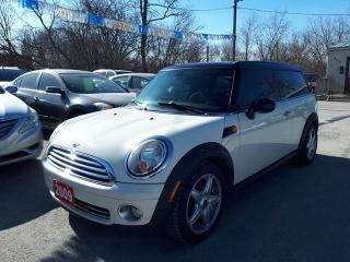 Used 2009 MINI Cooper Clubman Certified,Low kms!! for sale in Oshawa, ON