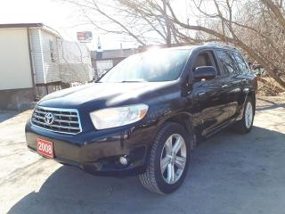 Used 2008 Toyota Highlander Limited,,AWD for sale in Oshawa, ON