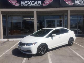 Used 2014 Honda Civic EX AUT0 A/C SUNROOF BACKUP CAMERA 116K for sale in North York, ON