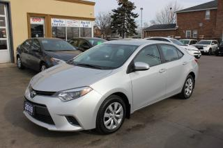 Used 2016 Toyota Corolla LE Bluetooth Backup Cam Heated Seats for sale in Brampton, ON