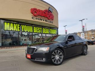 Used 2012 Chrysler 300 300S PANO ROOF RED LTHR BLIND SPOT H-TD WHL LOADED for sale in Scarborough, ON