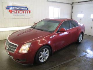 Used 2009 Cadillac CTS 3.6l/toit/onstar/cui for sale in Saint-jerome, QC