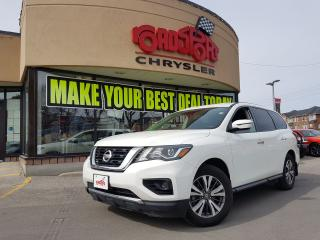 Used 2017 Nissan Pathfinder S ALLOY WHEELS 7 PASS REAR CAM B-TOOTH for sale in Scarborough, ON