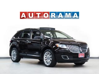 Used 2013 Lincoln MKX LTD LEATHER PAN SUNROOF AWD NAVIGATION BACKUP CAM for sale in North York, ON