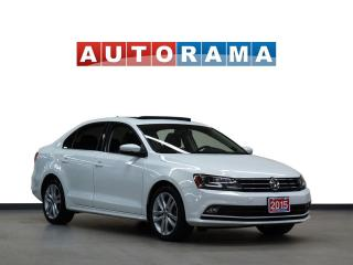 Used 2015 Volkswagen Jetta TDI LEATHER SUNROOF BACKUP CAMERA  NAVIGATION for sale in North York, ON