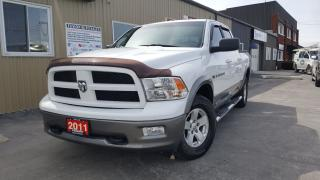 Used 2011 Dodge Ram 1500 Outdoorsman-CREW CAB-5.7L-4X4-CENTRE CONSOLE-TOW for sale in Tilbury, ON