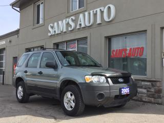 Used 2005 Ford Escape XLS for sale in Hamilton, ON