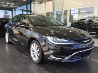 Used 2015 Chrysler 200 C, NAVI, PANO SUNROOF for sale in Edmonton, AB