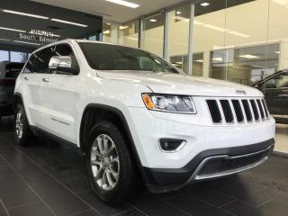 Used 2016 Jeep Grand Cherokee LIMITED, 4WD, HEATED LEATHER for sale in Edmonton, AB