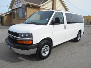 Used 2010 Chevrolet Express 3500 LS 12Passenger Van Loaded Certified ONLY 113,000Km for sale in Etobicoke, ON