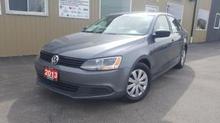 Used 2013 Volkswagen Jetta Comfortline-HEATED SEATS-BLUETOOTH-1 OWNER for sale in Tilbury, ON