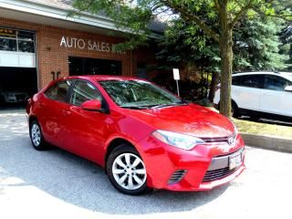 Used 2016 Toyota Corolla LE BackUp Cam Remot Start Low Km Cert for sale in Concord, ON