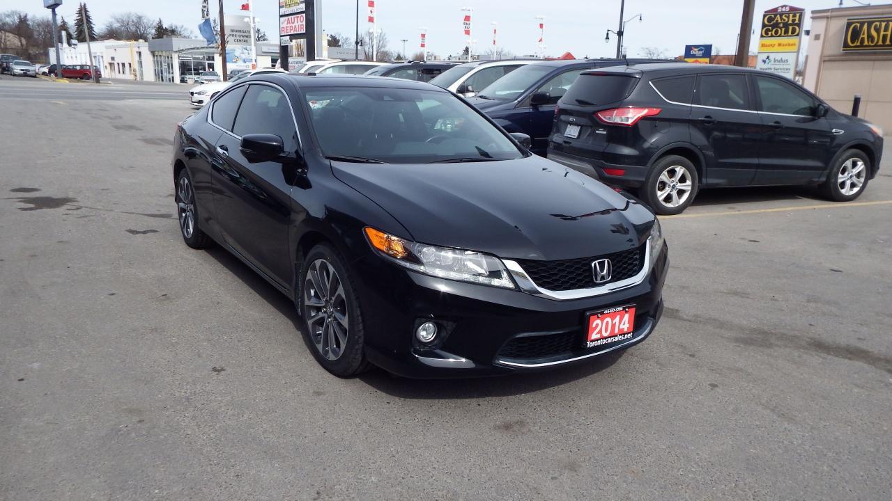 2014 Honda Accord EX-L W/NAVI/BACKUP CAMERA/IMACCULATE$15900
