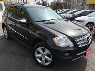 Used 2010 Mercedes-Benz ML 350 ML 350 BlueTEC/NAVI/LEATHER/ROOF/LOADED/ALLOYS for sale in Scarborough, ON