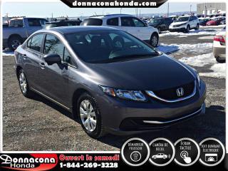 Used 2014 Honda Civic EX 4 portes CVT for sale in Donnacona, QC