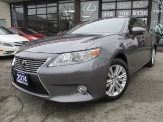 Used 2014 Lexus ES 350 NAV-LETHER-ROOF-CAMERA-BLUETOOTH for sale in Scarborough, ON