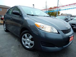 Used 2010 Toyota Matrix 5 SPEED | POWER GROUP | ONE OWNER | ACCIDENT FREE for sale in Kitchener, ON