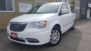 Used 2016 Chrysler Town & Country Touring-NAVIGATION-BACK UP CAMERA-PWR LIFTGATE for sale in Tilbury, ON