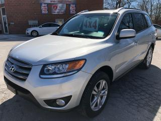 Used 2012 Hyundai Santa Fe GL Premium/AWD/NO ACCIDENT/CERTIFIED/WARRANTY INCL for sale in Cambridge, ON