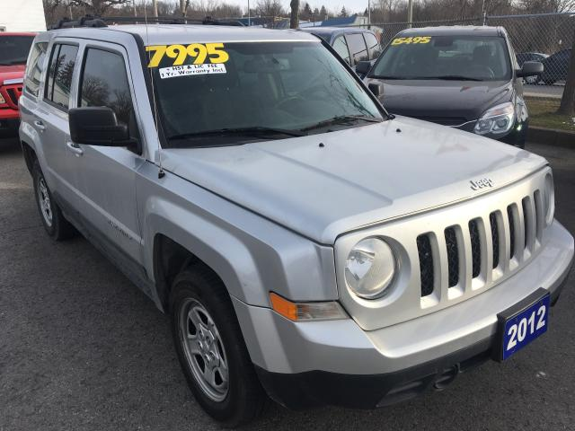 used 2012 jeep patriot sport 4wd for sale in st catharines ontario. Black Bedroom Furniture Sets. Home Design Ideas