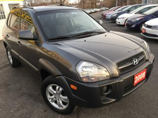 Used 2008 Hyundai Tucson GL / AUTO / LOADED / ALLOYS / RELIABLE!! for sale in Scarborough, ON
