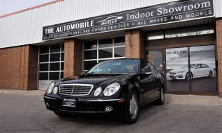 Used 2003 Mercedes-Benz E500 E-CLASS NO ACCIDENT LATHER PANO SUNROOF for sale in Mississauga, ON