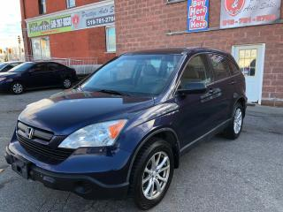 Used 2008 Honda CR-V LX/4WD/NO ACCIDENT/CERTIFIED/WARRANTY INCLUDED for sale in Cambridge, ON