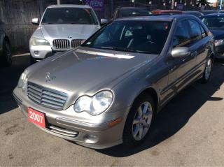 Used 2007 Mercedes-Benz C280 3.0L/4Matic/Leather/Sunroof/Dual-Zone-Climate/MINT CONDITION for sale in Scarborough, ON