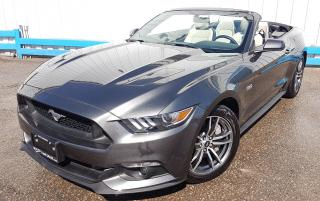 Used 2017 Ford Mustang GT V8 *CONVERTIBLE* for sale in Kitchener, ON