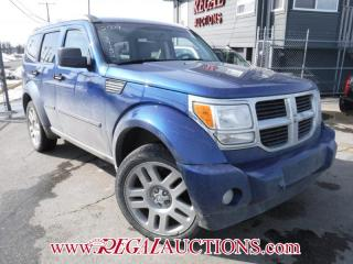 Used 2009 Dodge NITRO SLT 4D UTILITY 4WD for sale in Calgary, AB