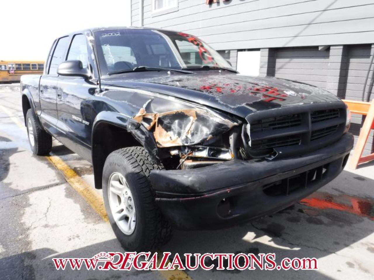 Photo of Black 2002 Dodge DAKOTA SPORT QUAD CAB 4WD