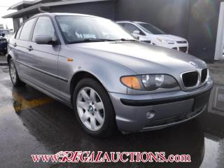 Used 2005 BMW 3 SERIES 320I 4D SEDAN for sale in Calgary, AB