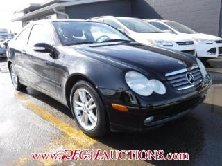Used 2003 Mercedes-Benz C-CLASS CL230 2D COUPE for sale in Calgary, AB