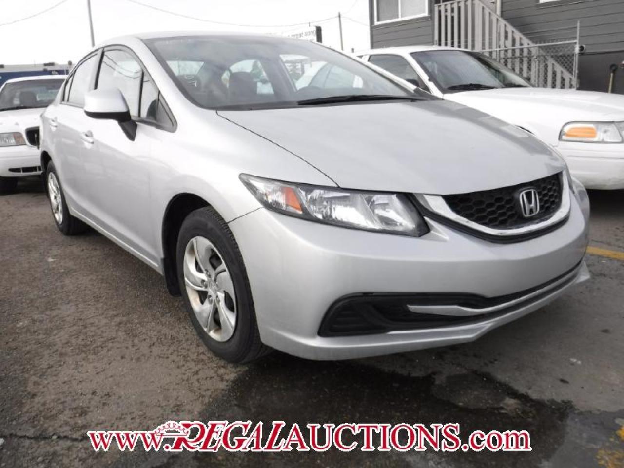 Photo of Silver 2013 Honda CIVIC LX 4D SEDAN AT