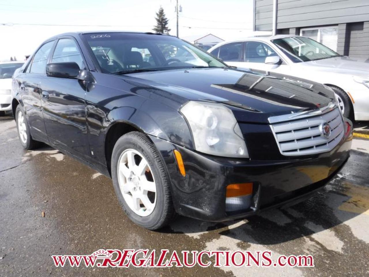 Photo of Black 2006 Cadillac CTS BASE 4D SEDAN
