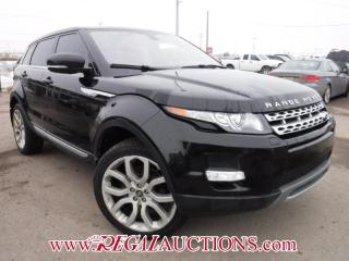 Used 2013 Land Rover RANGE ROVER EVOQUE  4D UTILITY for sale in Calgary, AB