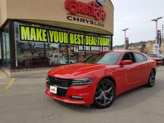 Used 2017 Dodge Charger R/T NAVI P-ROOF COOLED SEATS HEMI for sale in Scarborough, ON
