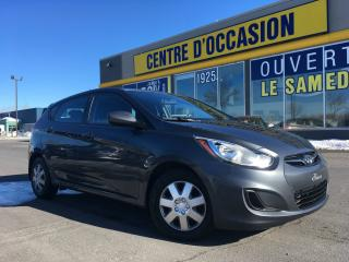Used 2012 Hyundai Accent GL HATCHBACK AUTO for sale in Levis, QC