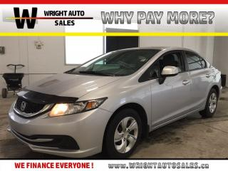 Used 2013 Honda Civic LX|HEATED SEATS|BLUETOOTH|78,704 KMS for sale in Cambridge, ON