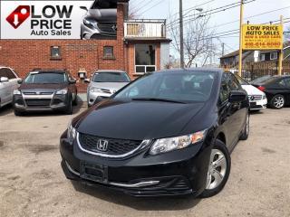 Used 2014 Honda Civic LX*AllPwrOpti*Camera*HtdSeats&Warranty for sale in York, ON