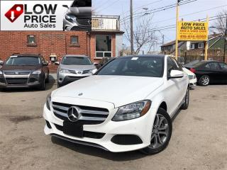 Used 2015 Mercedes-Benz C-Class AWD*PanoramicRoof*Navi*BlindSpot*Camera&Warranty* for sale in York, ON